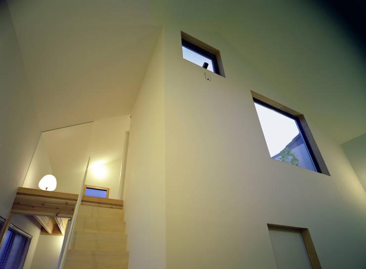 習志野台の家: シミズアトリエ 一級建築士事務所が手掛けた窓です。
