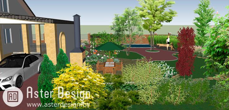 Ландшафтный дизайн в Раубичах: Сады в . Автор – Aster Garden