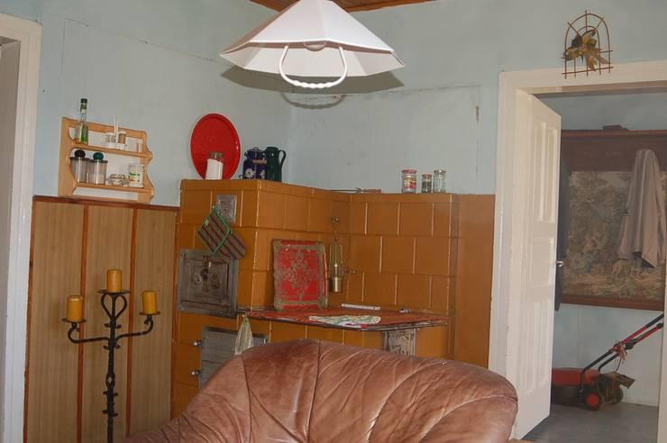 Metamorfoza domu w Bieszczadach: styl , w kategorii  zaprojektowany przez deco chata