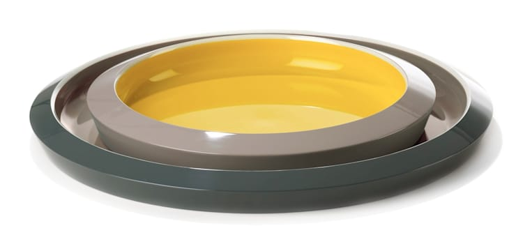 Saigon Lacquer Trays -for Imperfect Design-:  Woonkamer door studio arian brekveld