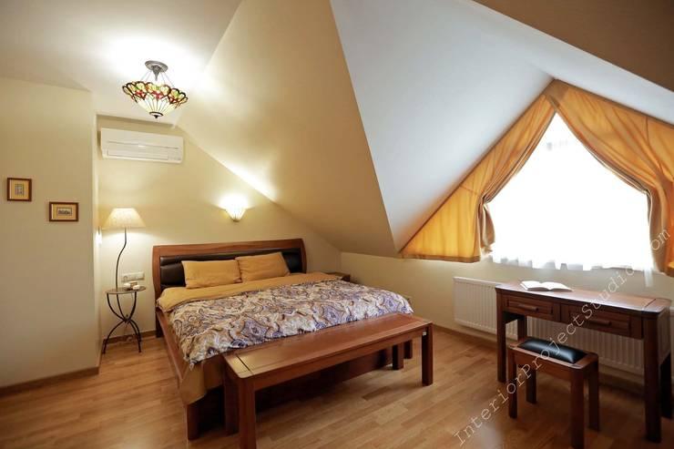 Спальня хозяйки:  в . Автор – Аврора - частный дизайнер интерьера (ИП)