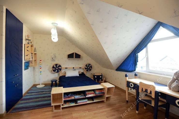 Детская комната:  в . Автор – Аврора - частный дизайнер интерьера (ИП)