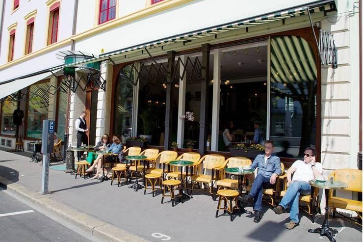 Le café perroquet vert - Switzerland: Restaurants de style  par Ardamez