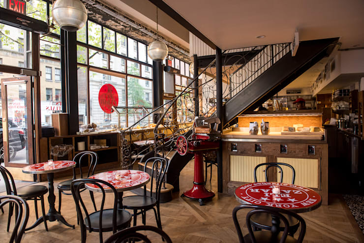 Restaurant Eli Zabar à New York: Restaurants de style  par Ardamez