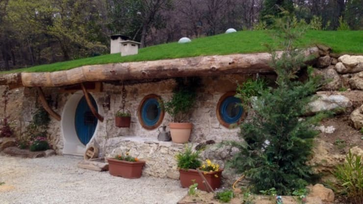 Janelas e portas  por Cabanes du Varon