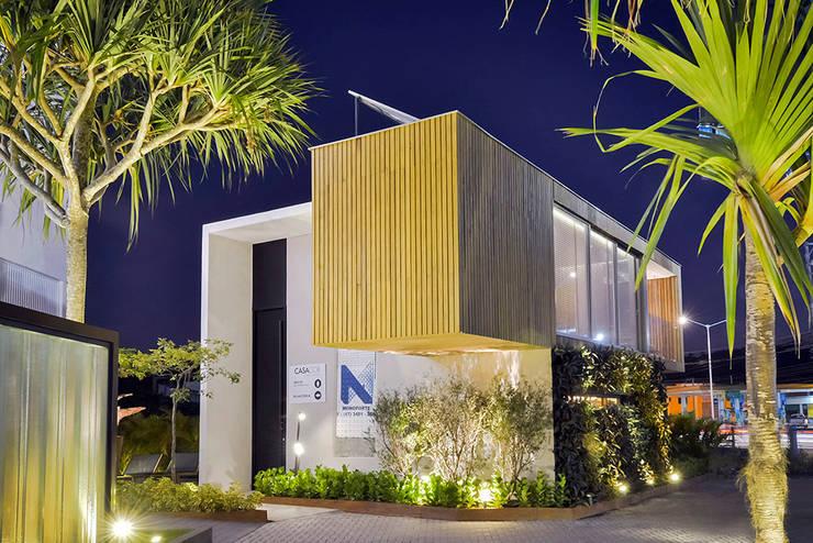 Loft Sustentável - Ambiente da Casa Cor SC  2015: Casas modernas por Studium Saut Arte & Interiores