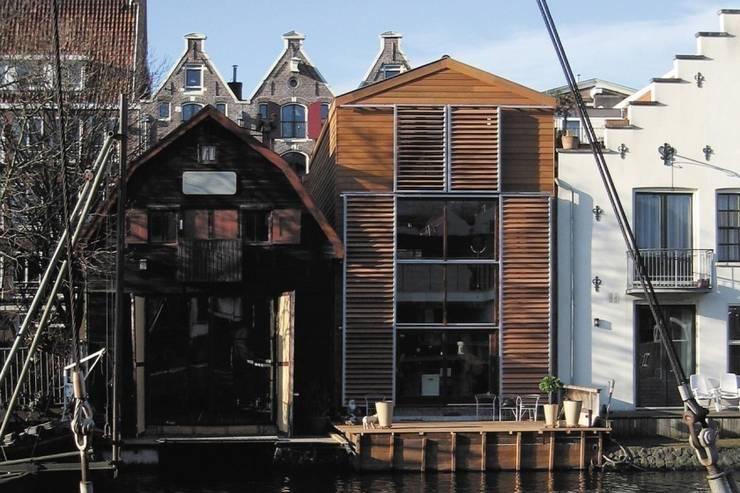 WOONHUIS MET FOTOSTUDIO_01:  Huizen door HOYT architecten