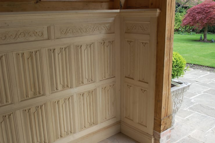 Linenfold Panelling :  Houses by Arttus