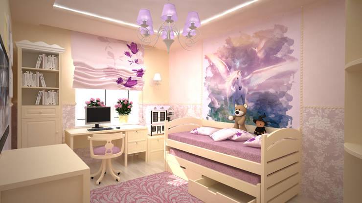 غرفة الاطفال تنفيذ дизайн-бюро ARTTUNDRA