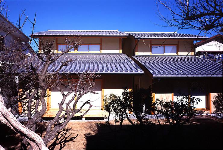 ファサード: 松井建築研究所が手掛けた家です。,