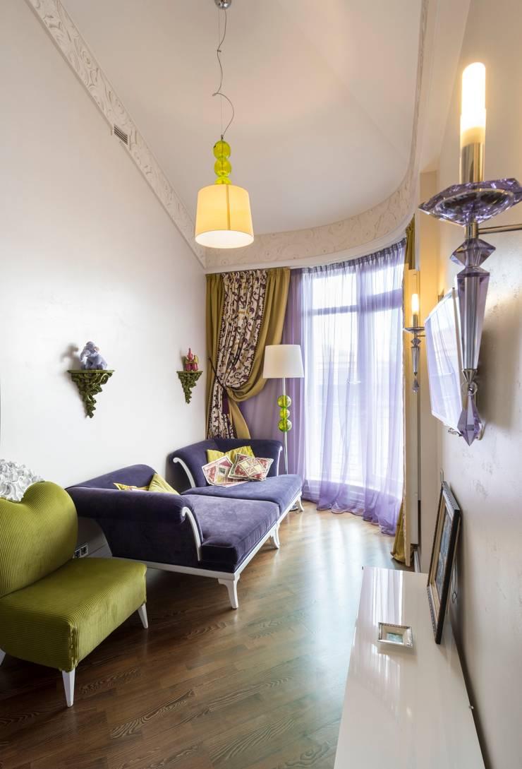гостевая комната:  в . Автор – Архитектурно-дизайнерское бюро Натальи Медведевой 'APRIORI design',
