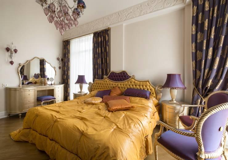 спальня:  в . Автор – Архитектурно-дизайнерское бюро Натальи Медведевой 'APRIORI design',