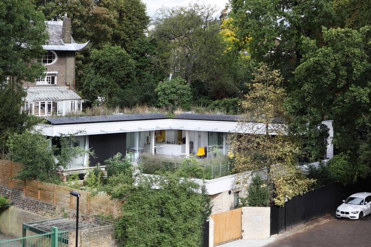 E2 PAVILION ECO HOUSE, BLACKHEATH:  Houses by E2 Architecture + Interiors