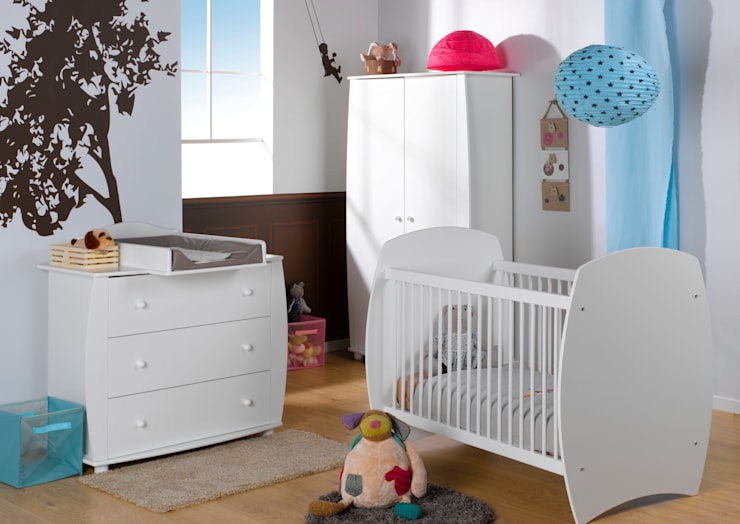 Habitaciones infantiles de estilo  por Mobikids