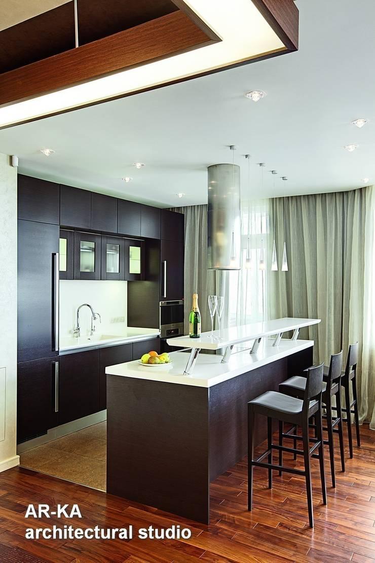 Жизнь в ШОКОЛАДЕ : Кухни в . Автор – AR-KA architectural studio