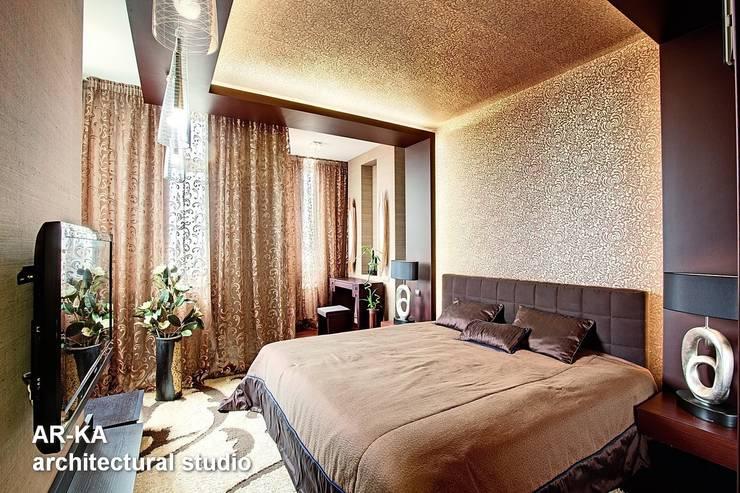 Жизнь в ШОКОЛАДЕ : Спальни в . Автор – AR-KA architectural studio