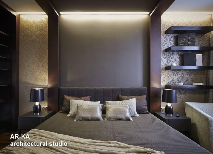 Все сложное - ПРОСТО: Спальни в . Автор – AR-KA architectural studio