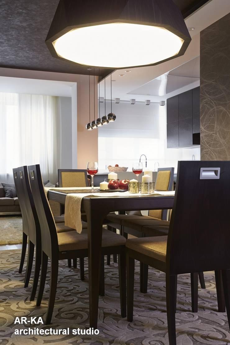 Все сложное - ПРОСТО: Столовые комнаты в . Автор – AR-KA architectural studio