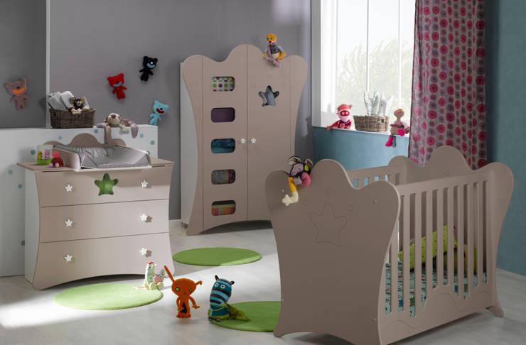 Dormitorios infantiles  de estilo  por Mobikids