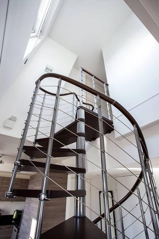 modernisation d 39 un appartement en duplex par msd architecte d 39 int rieur homify. Black Bedroom Furniture Sets. Home Design Ideas