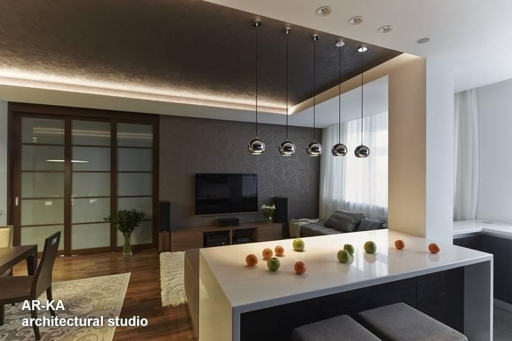 Все сложное - ПРОСТО: Кухни в . Автор – AR-KA architectural studio