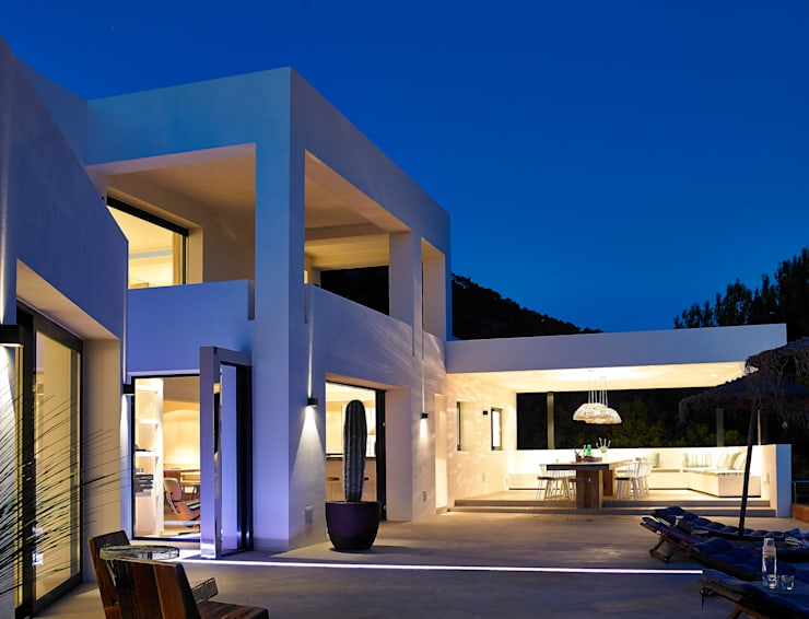 Casa Bernd: Casas de estilo mediterráneo de Atlant de Vent