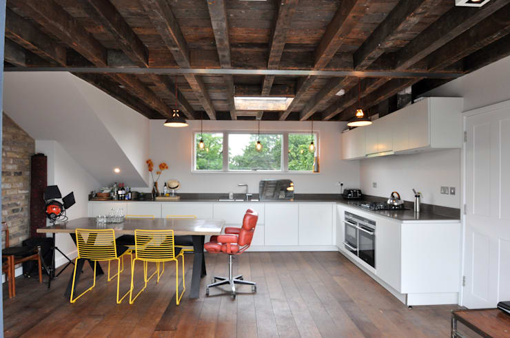 Keuken door E2 Architecture + Interiors