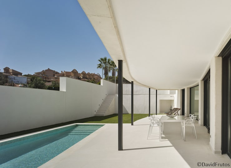 Casa Cabo: Terrazas de estilo  de Martin del Guayo