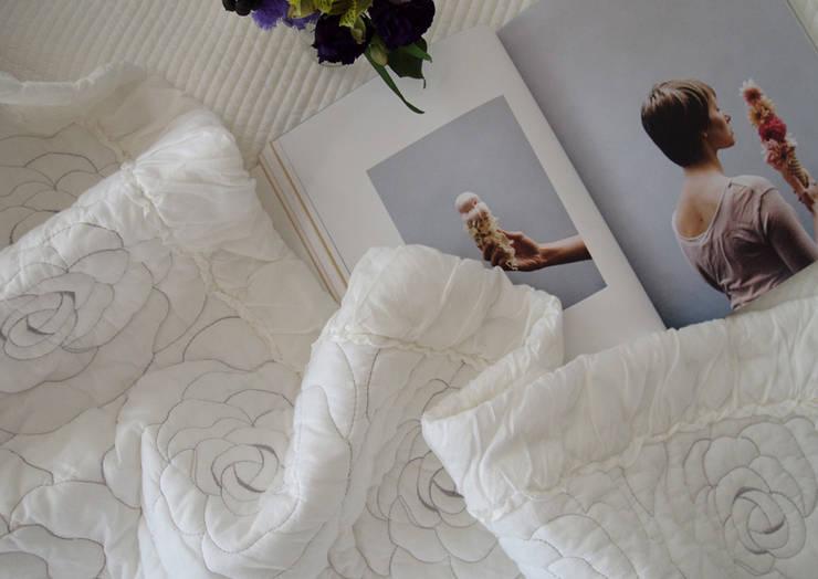 로지 차렵 베딩세트: 메종드룸룸의  침실