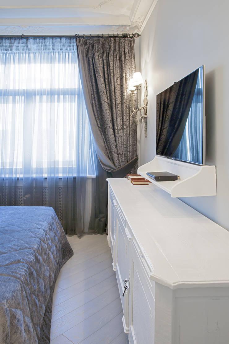 Спальня:  в . Автор – Архитектурно-дизайнерское бюро Натальи Медведевой 'APRIORI design'