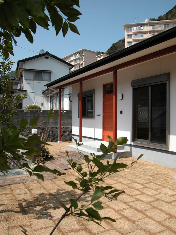 PETANKOの家: 鶴巻デザイン室が手掛けた家です。