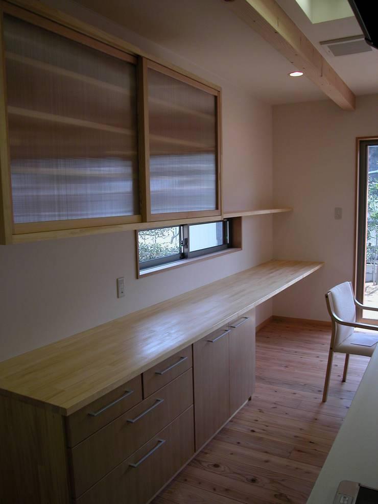 PETANKOの家: 鶴巻デザイン室が手掛けたキッチンです。