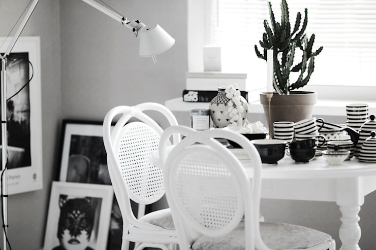 My work : styl , w kategorii Jadalnia zaprojektowany przez FusionHouse