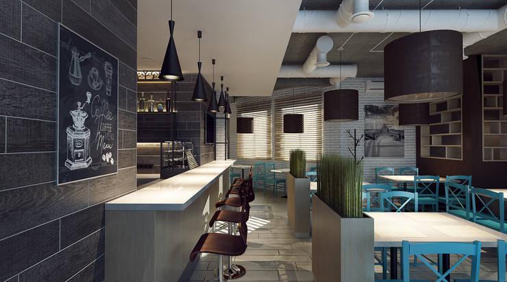 Интерьер обеденного зала: Ресторации в . Автор – M5 studio