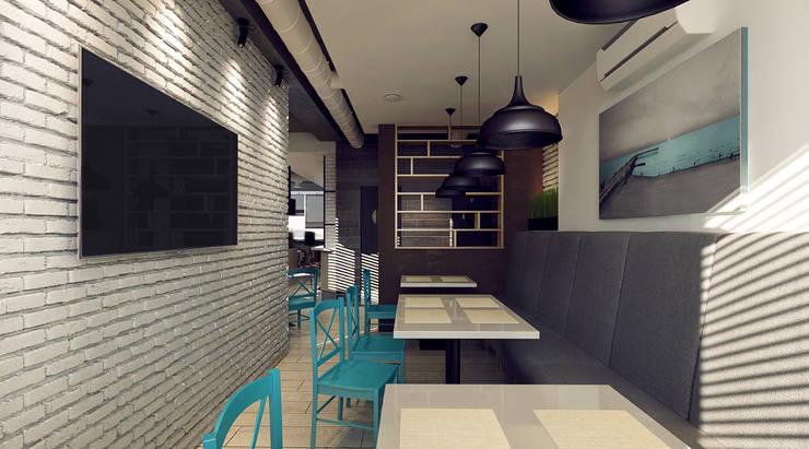 Интерьер малого обеденного зала: Ресторации в . Автор – M5 studio