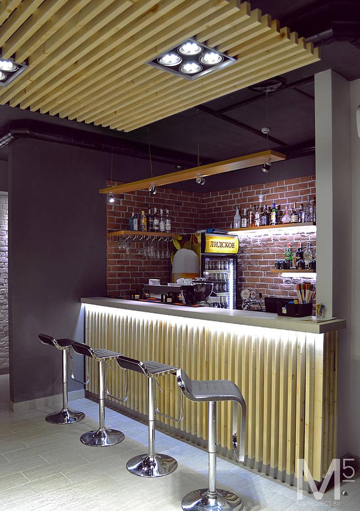 Интерьер пиццерии  #buongiorno: Бары и клубы в . Автор – M5 studio