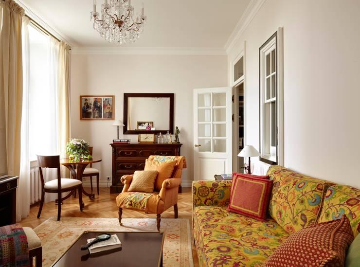 Квартира на Остоженке: Гостиная в . Автор – D'Seesion