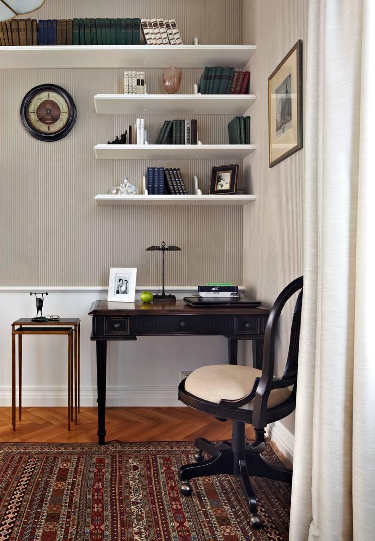 Квартира на Остоженке: Рабочие кабинеты в . Автор – D'Seesion