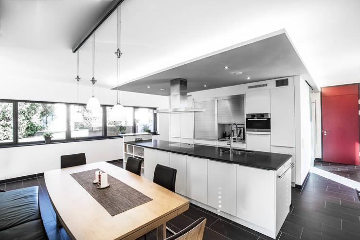 Projekty,  Kuchnia zaprojektowane przez 21-arch GmbH