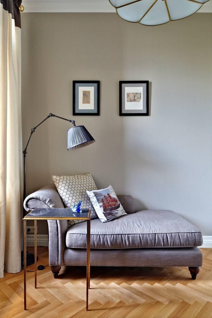 Квартира на Остоженке: Спальни в . Автор – D'Seesion