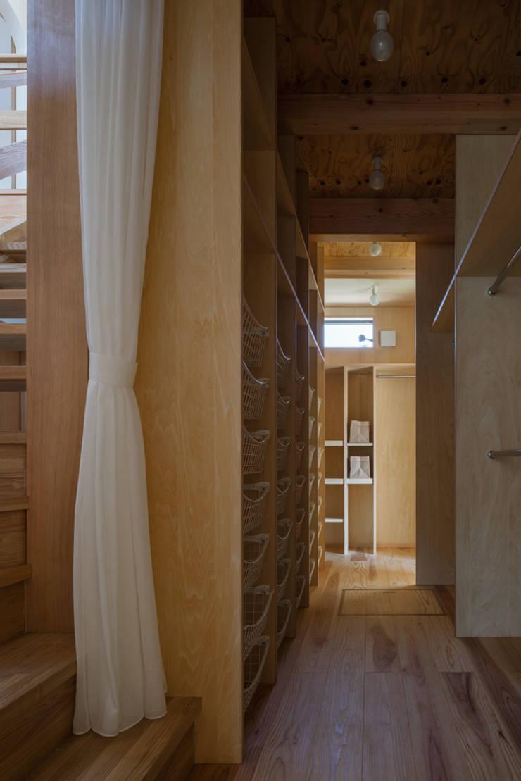 ウォークインクロゼット: 小野育代建築設計事務所が手掛けたウォークインクローゼットです。