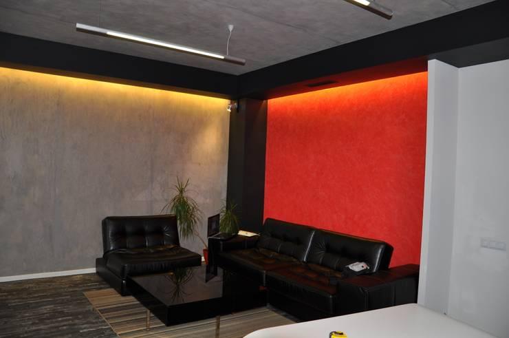Дизайн-проект офиса компании <q>МОРЕ ПИВА</q> : Офисные помещения в . Автор – archirdom