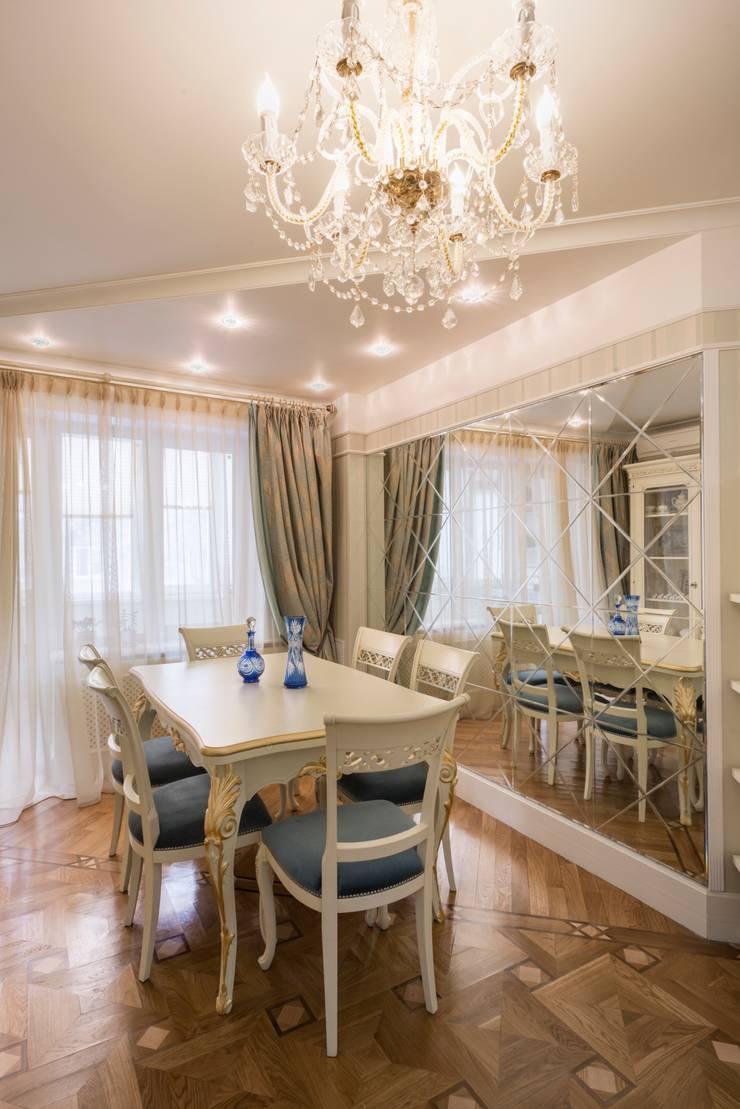гостиная, вид на столовую зону:  в . Автор – Архитектурно-дизайнерское бюро Натальи Медведевой 'APRIORI design'