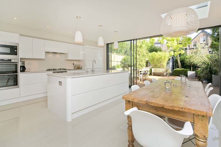 Private House - Highgate :  Kitchen by New Images Ltd