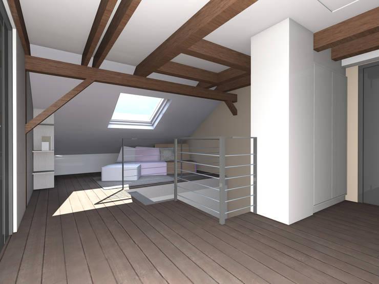 Modélisation 3D du projet:  de style  par J'ose - Architecte d'intérieur