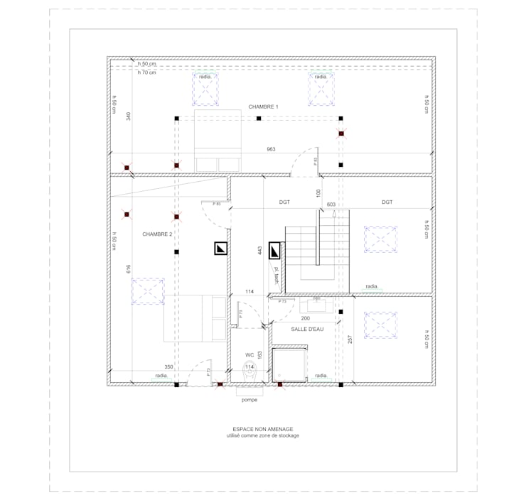 Projekty,   zaprojektowane przez J'ose - Architecte d'intérieur