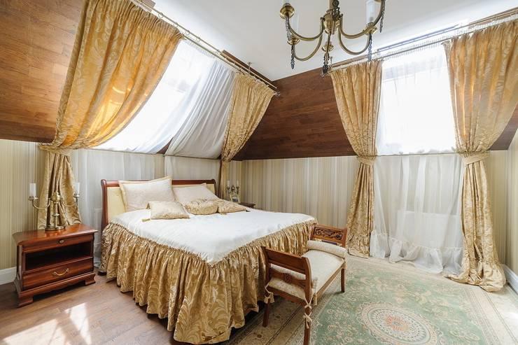 Частный дом Минская обл.: Спальни в . Автор – Angelika Moroz interior design