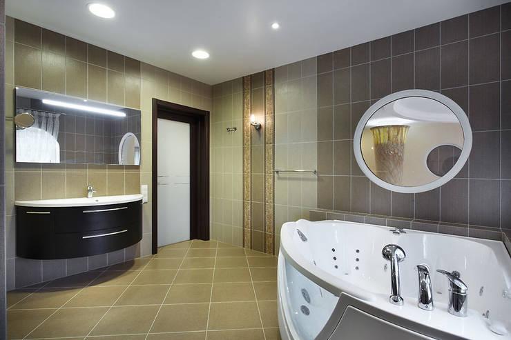 """<q class=""""-first"""">Узигонты</q>: Ванные комнаты в . Автор – дизайн-группа 'Лестница'"""