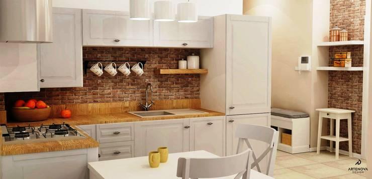 kuchnia vintage: styl , w kategorii Kuchnia zaprojektowany przez Artenova Design