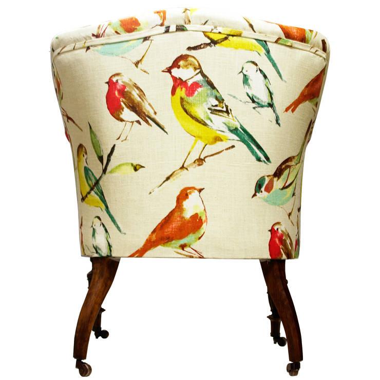 Fotel Adam od www.hamptonhouse.pl: styl , w kategorii Salon zaprojektowany przez Hampton House